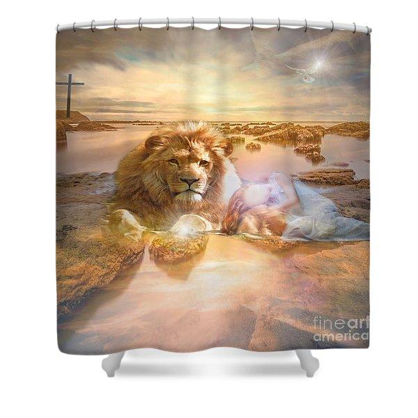 Divine Rest Shower Curtain