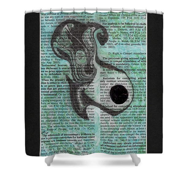 Diving  Shower Curtain