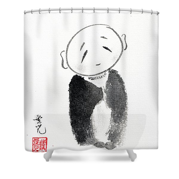 Dizang Pusa Shower Curtain