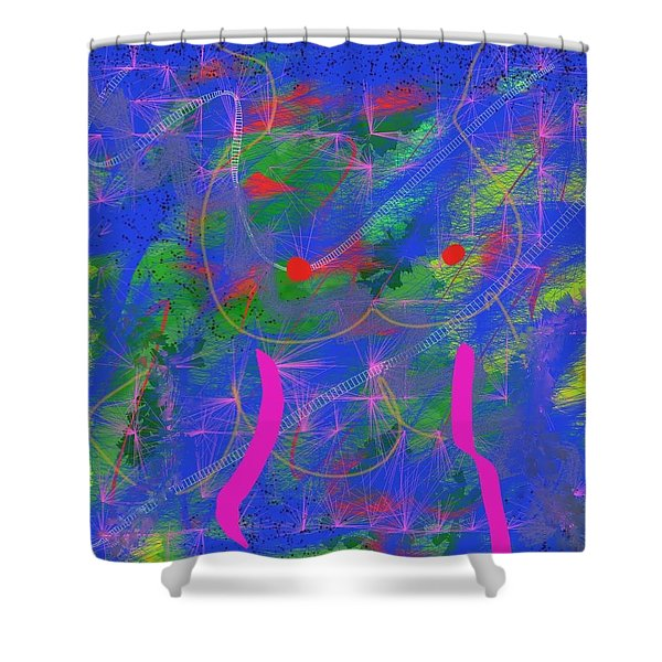 DNA Shower Curtain