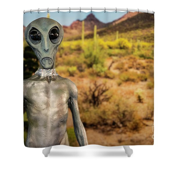 Do You Believe Shower Curtain