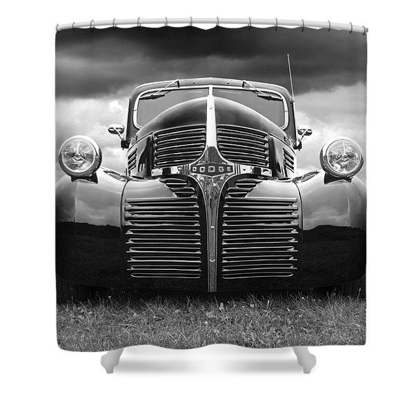 Dodge Truck 1947 Shower Curtain