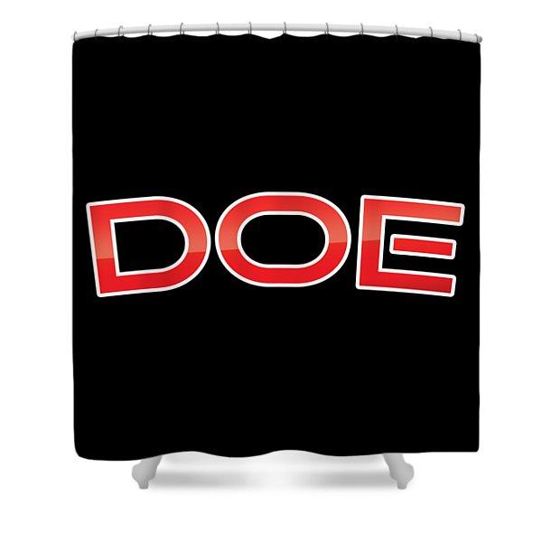 Doe Shower Curtain