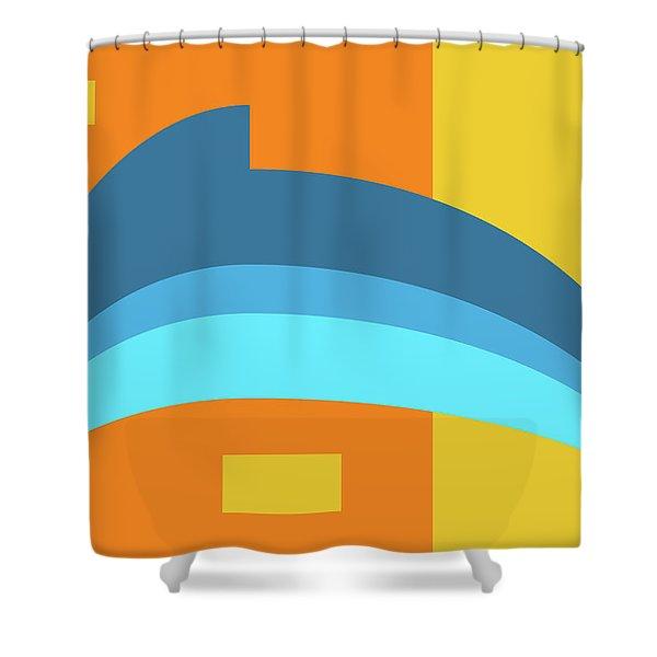 Dolphin Shower Curtain