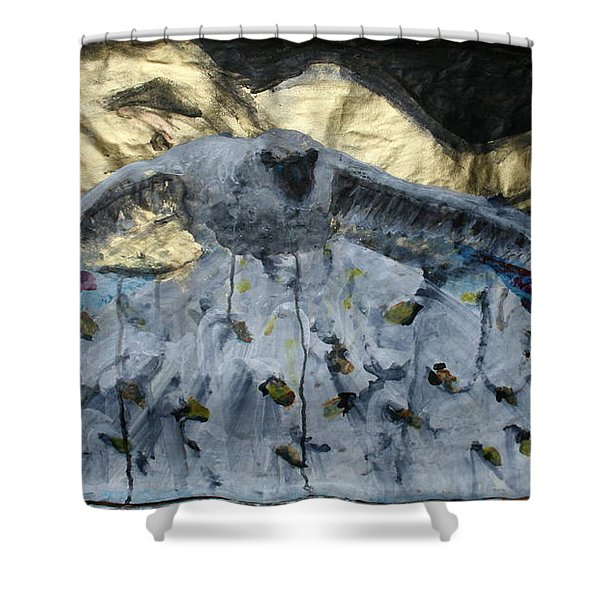 Don't Fight Your Dreams Shower Curtain