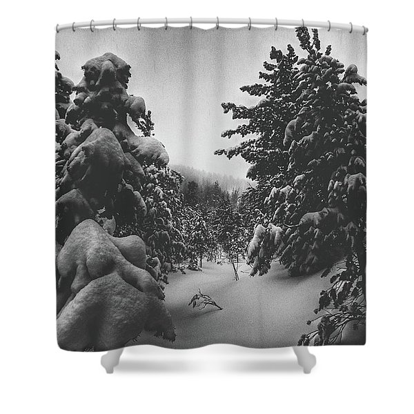 Don't Want To Sleep Tonight  Shower Curtain