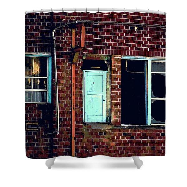 Door To Nowhere Shower Curtain