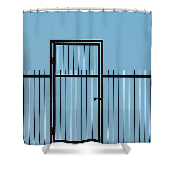 Door To The Sky Shower Curtain