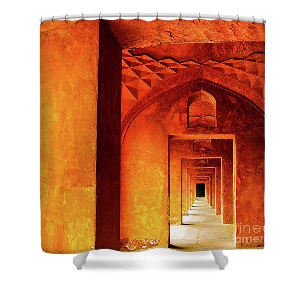 Doors Of India - Taj Mahal Shower Curtain