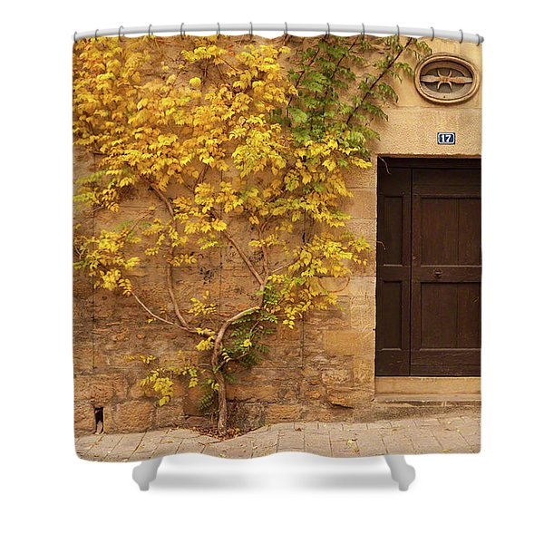Doorway, Sarlat, France Shower Curtain