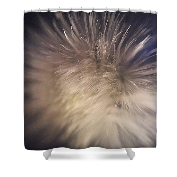 Down The Middle Shower Curtain