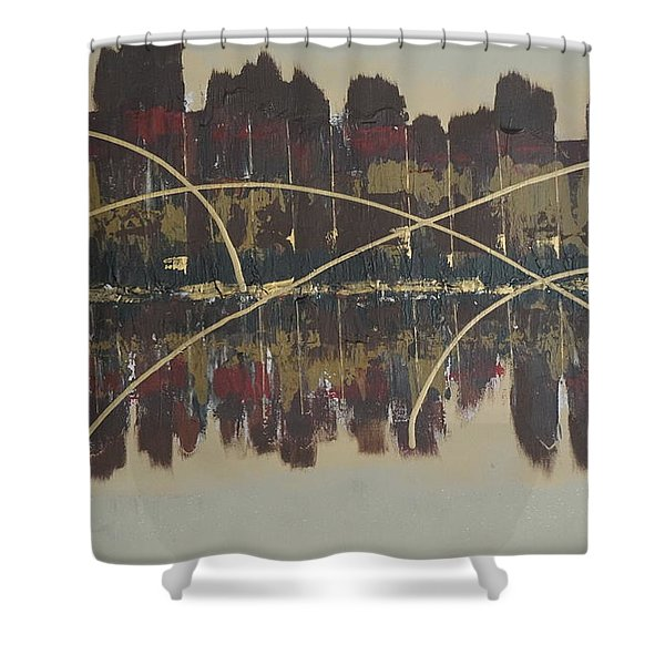 Downtown Abbey Shower Curtain
