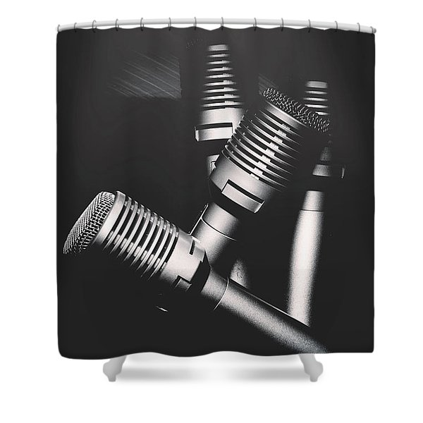 Downtown And Dimly Lit  Shower Curtain