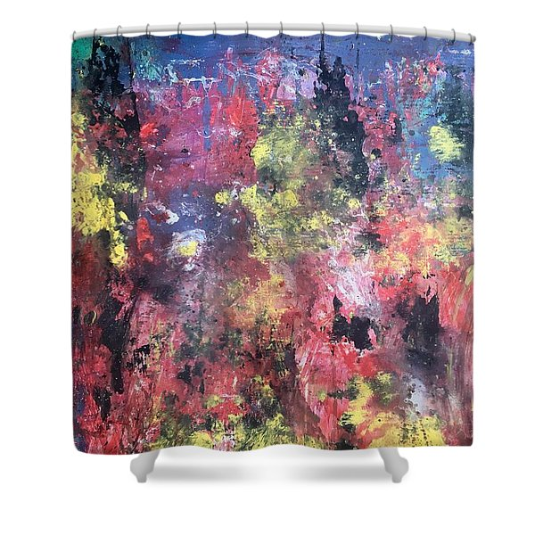Downtown Sac Shower Curtain