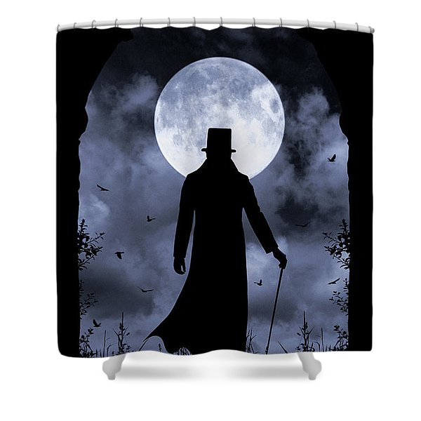 Dracula Returns Shower Curtain