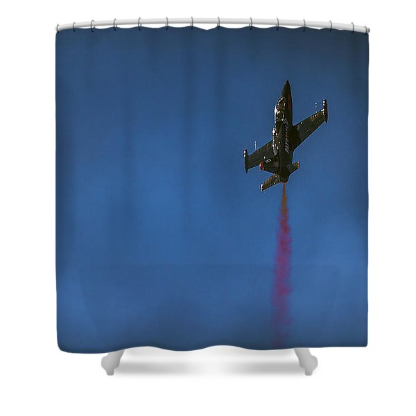 Dramatic Solo Shower Curtain