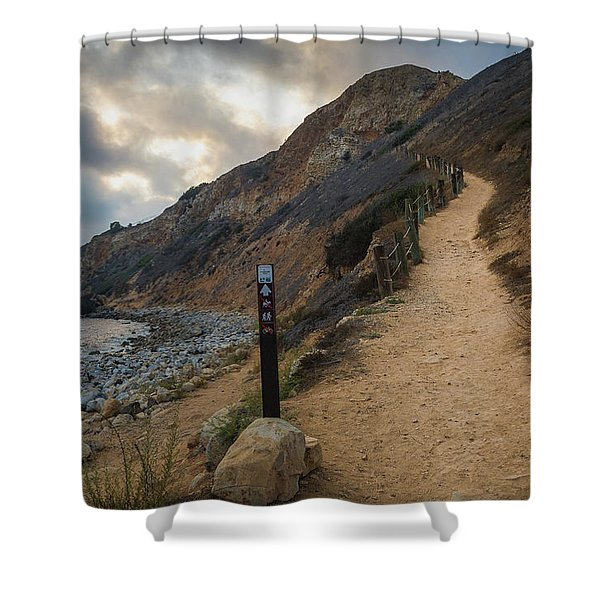 Dramatic Tovemore Trail Shower Curtain