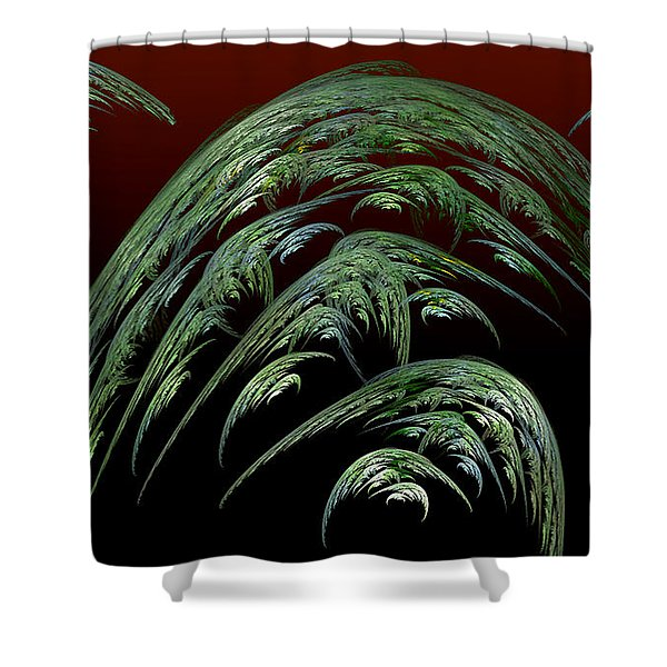 Dread Full Shower Curtain