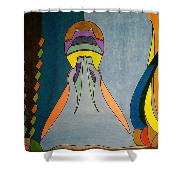 Dream 338 Shower Curtain