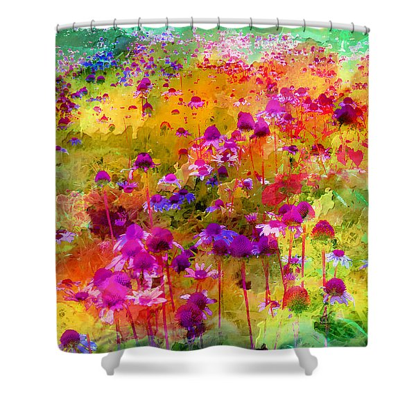 Dream Of Flowers Shower Curtain