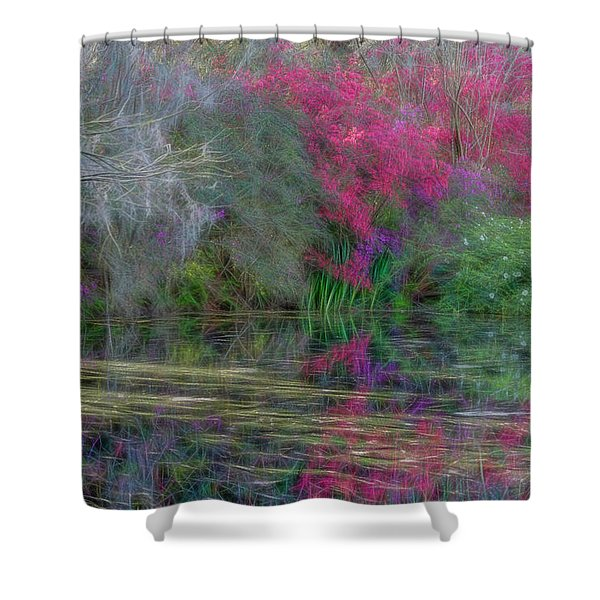 Dream Reflection Shower Curtain