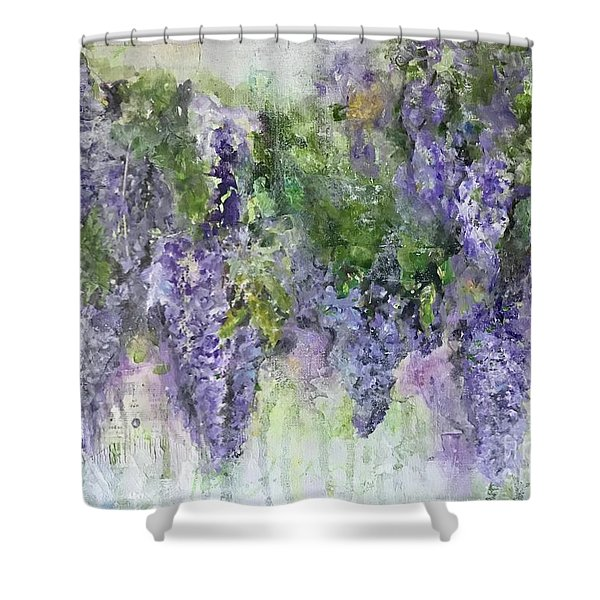 Dreams Of Wisteria Shower Curtain