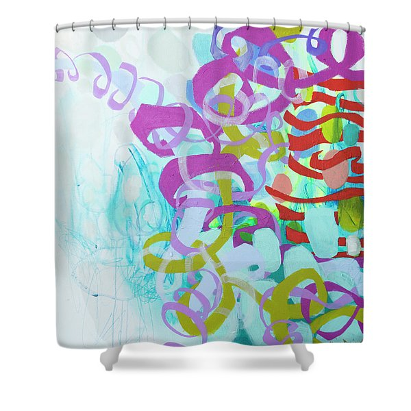 Dreams Of You And Me Shower Curtain