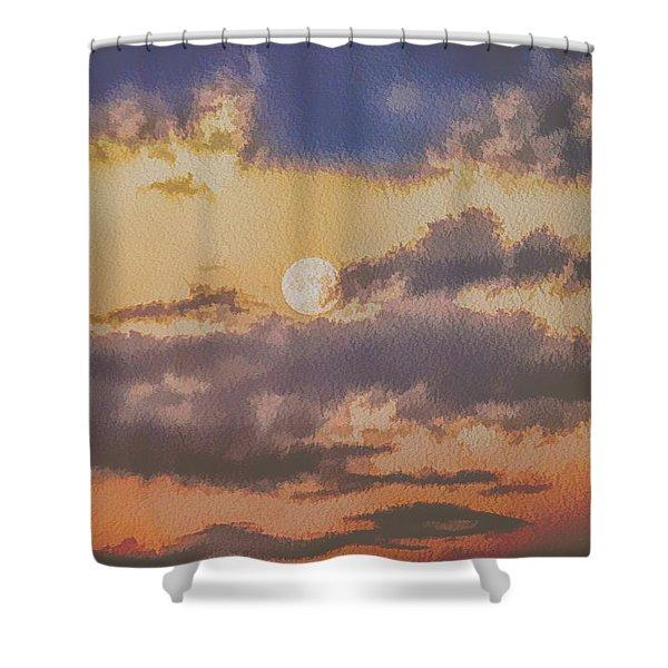 Dreamy Moon Shower Curtain