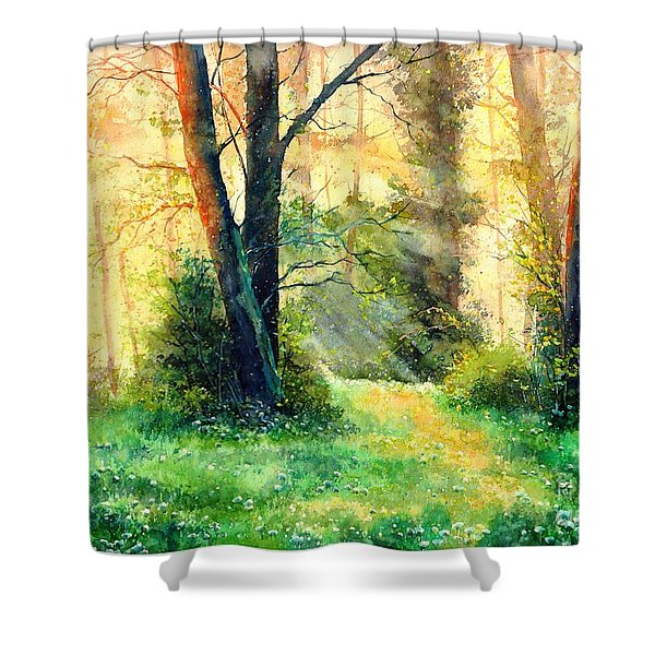Dreamy Sunset Shower Curtain