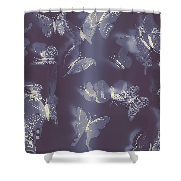 Dreamy Wings Shower Curtain