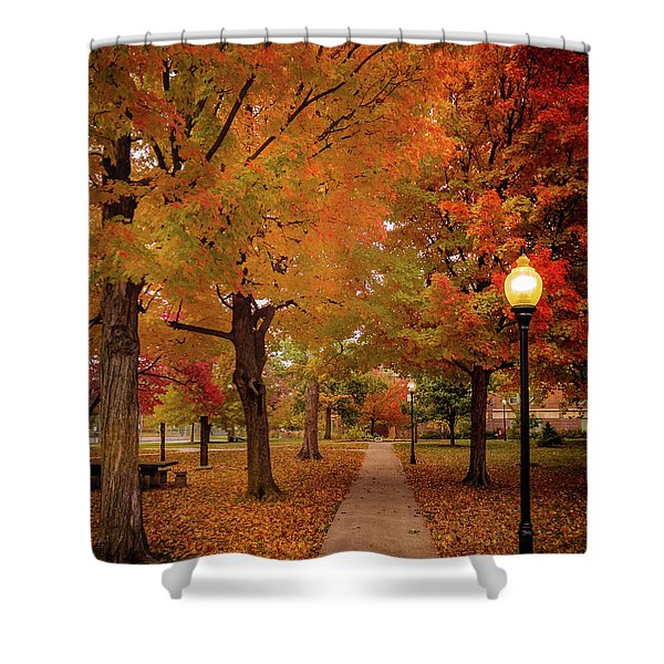 Drury Autumn Shower Curtain