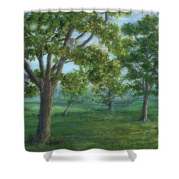 Dueling Grounds New Orleans Louisiana Shower Curtain