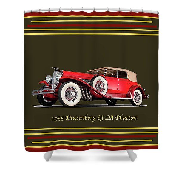 Duesenberg 1935 Shower Curtain