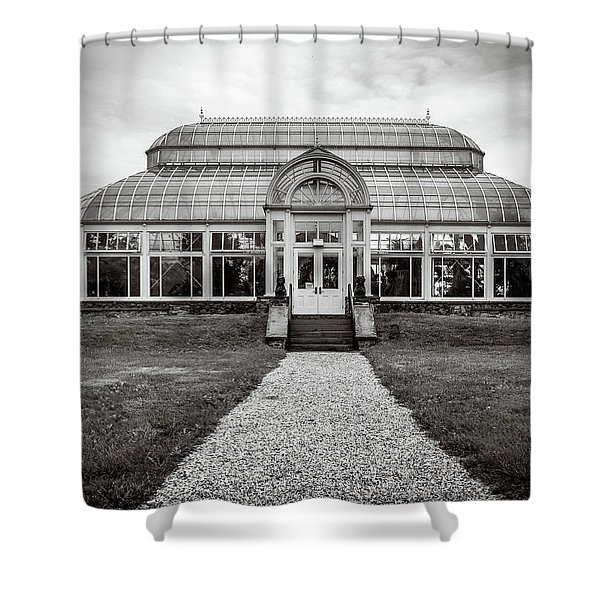 Duke Farms Conservatory Shower Curtain