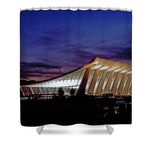 Dulles International Shower Curtain
