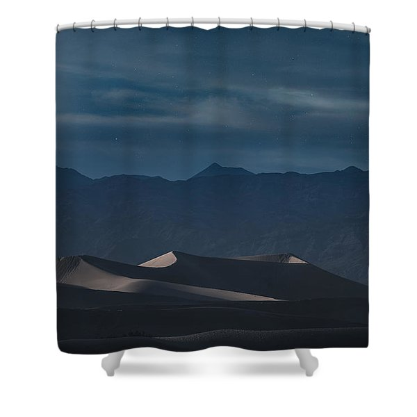 Dunes Of The Death Valley Shower Curtain