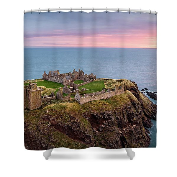 Dunnottar Sunrise Shower Curtain