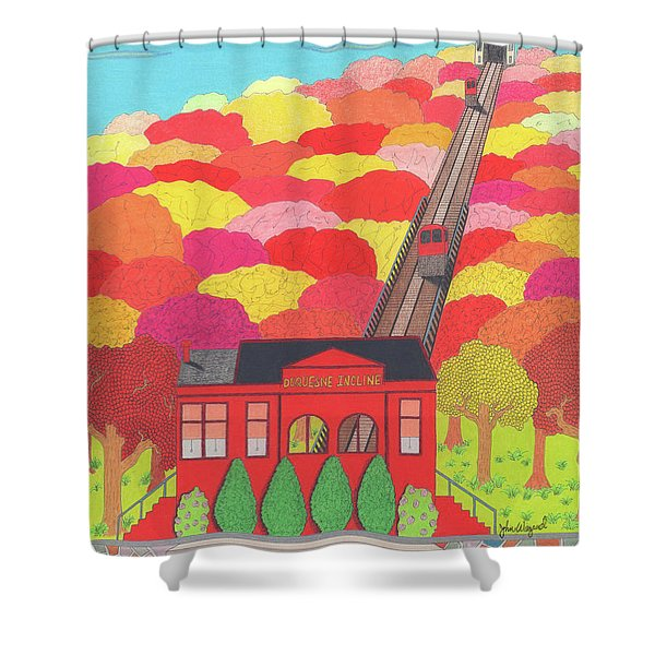 Duquesne Incline Shower Curtain