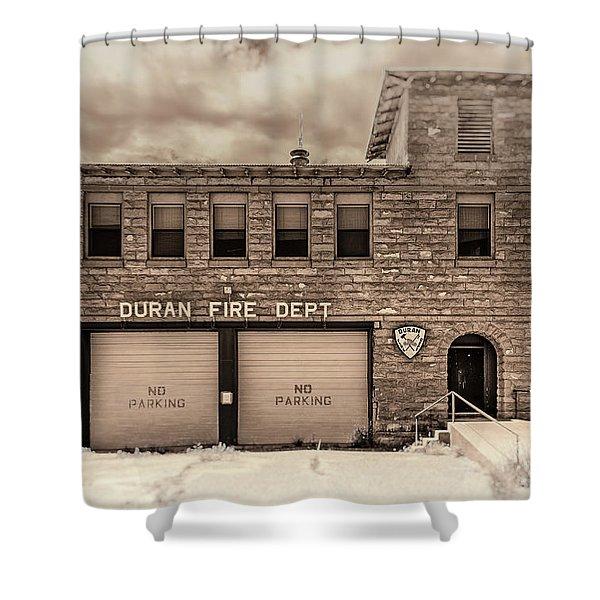 Duran Fire Dept Shower Curtain