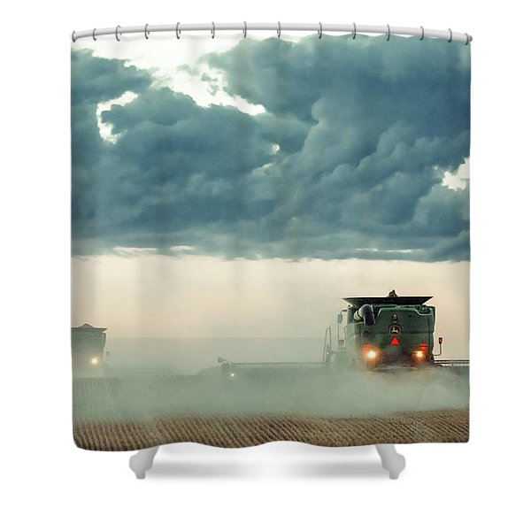 Dusty Dusk Shower Curtain