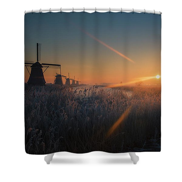 Dutch Dawn IIi Shower Curtain