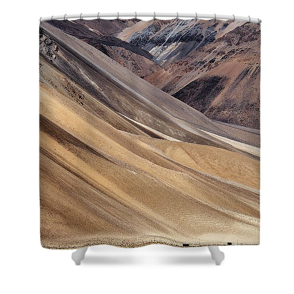 Shower Curtain featuring the photograph Dwarfed by Whitney Goodey