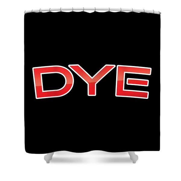 Dye Shower Curtain
