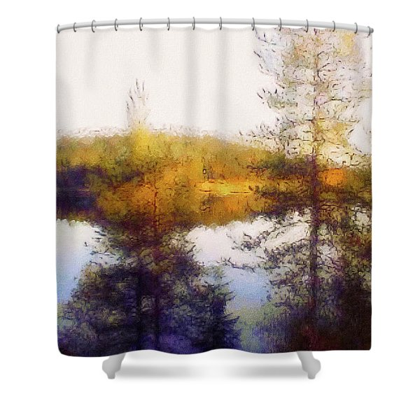 Early Autumn In Finland Shower Curtain
