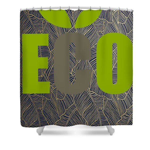 Eco Green Shower Curtain