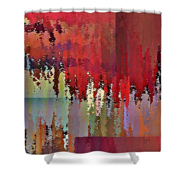 Ecumenopolis Shower Curtain