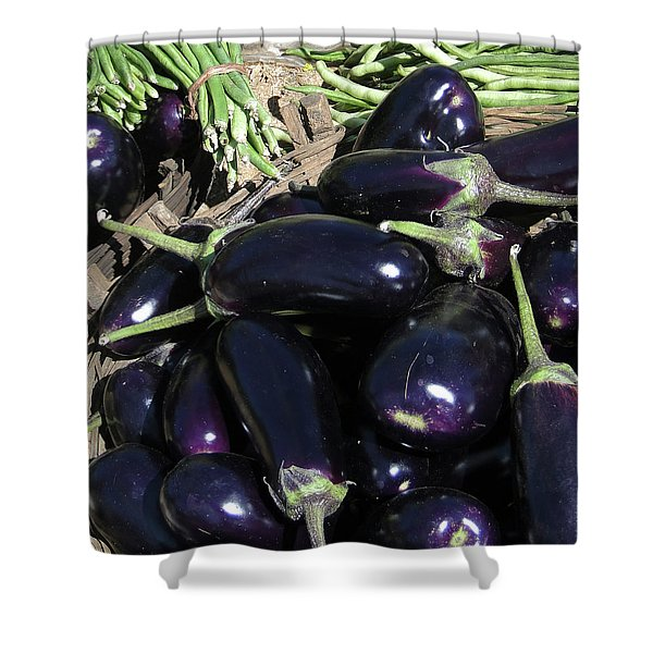 Eggplants   For Sale In In Chatikona  Shower Curtain