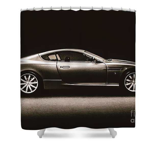 Elegant Darkness Shower Curtain