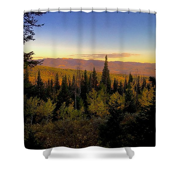 Elk Bluff  Shower Curtain