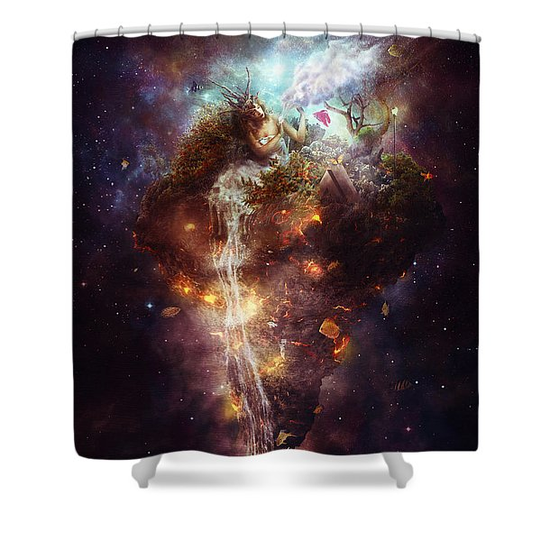 Empathy Shower Curtain